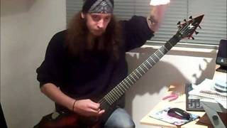 "How to play ""Cult"" by Evile - Ol Drake"