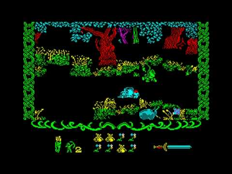Robin Of The Wood ZX Spectrum (c) 1985 Odin