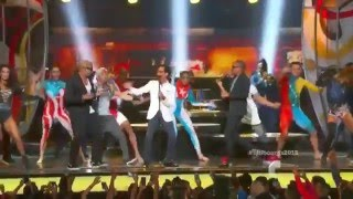 Gente de Zona ft  Marc Anthony La Gozadera en los Premios Billboard 2015
