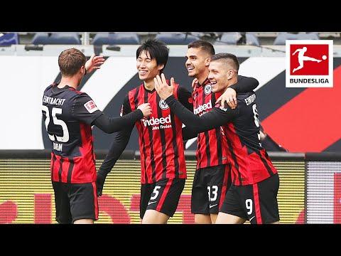 7(!) GOALS – Tough battle between Frankfurt & Wolfsburg