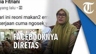 Konferensi Pers Penjelasan Petugas Inspektorat Tangerang Amelia Fitriana yang Viral Hina Babu