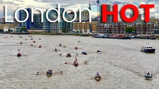 Spectacle of London's River Thames