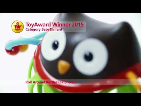 Skiphop Roll Around Rattle Owl
