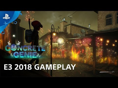 Concrete Genie Gameplay Demo | PlayStation Live from E3 de Concrete Genie