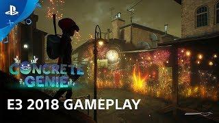 Concrete Genie E3 2018 Gameplay Demo | PlayStation Live from E3 - dooclip.me