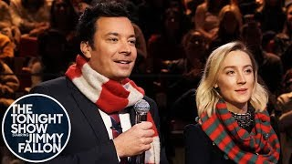 """Saoirse Ronan and Jimmy have a Tonight Show lock-in, Irish pub-style, and serenade the audience with a duet of the Pogues' """"Fairytale of New York.""""  Subscribe NOW to The Tonight Show Starring Jimmy Fallon: http://bit.ly/1nwT1aN  Watch The Tonight Show Starring Jimmy Fallon Weeknights 11:35/10:35c Get more Jimmy Fallon:  Follow Jimmy: http://Twitter.com/JimmyFallon Like Jimmy: https://Facebook.com/JimmyFallon  Get more The Tonight Show Starring Jimmy Fallon:  Follow The Tonight Show: http://Twitter.com/FallonTonight Like The Tonight Show: https://Facebook.com/FallonTonight The Tonight Show Tumblr: http://fallontonight.tumblr.com/  Get more NBC:  NBC YouTube: http://bit.ly/1dM1qBH Like NBC: http://Facebook.com/NBC Follow NBC: http://Twitter.com/NBC NBC Tumblr: http://nbctv.tumblr.com/ NBC Google+: https://plus.google.com/+NBC/posts  The Tonight Show Starring Jimmy Fallon features hilarious highlights from the show including: comedy sketches, music parodies, celebrity interviews, ridiculous games, and, of course, Jimmy's Thank You Notes and hashtags! You'll also find behind the scenes videos and other great web exclusives.  Saoirse Ronan and Jimmy Sing """"Fairytale of New York"""" http://www.youtube.com/fallontonight  #FallonTonight #SaoirseRonan #JimmyFallon"""