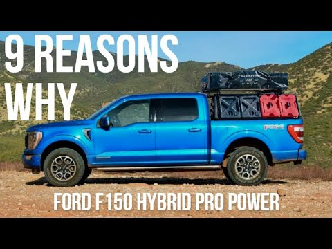 The Ford F150 Hybrid With Pro Power Is THE Slept On Overland Rig Of 2021...Here's Why