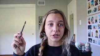 TRYING TO DO MY EYEBROWS FOR THE FIRST TIME