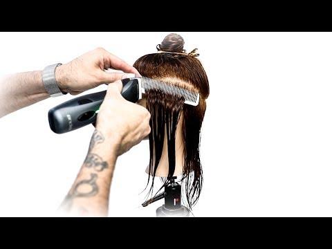 Undercut Bob Haircut for Thick Hair | MATT BECK VLOG 107