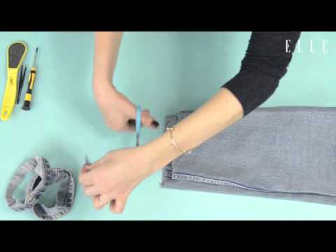 DO IT YOURSELF - Fransen-Jeans