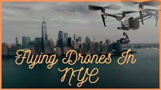 Flying Mavic 2 Zoom Drone in NYC