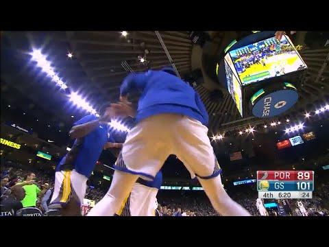 4th Quarter, One Box Video: Golden State Warriors vs. Portland Trail Blazers