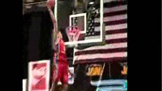 RARE Lebron James slam dunk contest footage - Started from the bottom