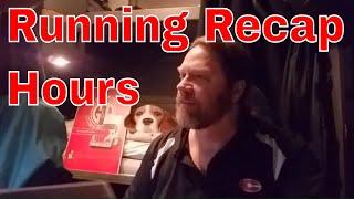 Running Recaps Vs 34 Hour DOT Reset CDL Truck Driving | RVT