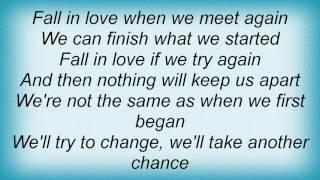 Alanis Morissette - When We Meet Again Lyrics