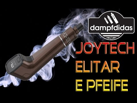 YouTube Video zu Joyetech Elitar Pipe E-Pfeifen Starterset 75 Watt 2 ml