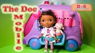 Unboxing The Doc Mc Stuffins  Mobile Check Up Station Toy