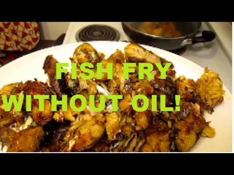 Video FRY FISH WITHOUT OIL!