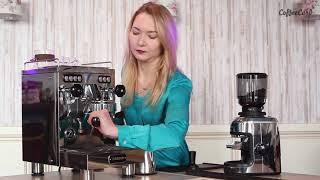 Профессиональная кофемашина Saeco SE-50 от компании BaristaDV. ru - видео