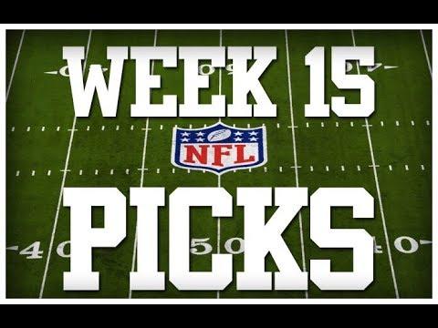 WEEK 15 NFL PICKS!!