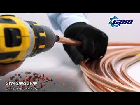 SPIN TOOLS narzedzia do kielichowania i roztłaczania - zdjęcie