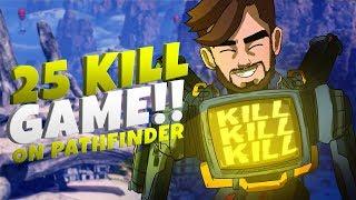 TSM Kraftyy 25 kills on Pathfinder, New Record, New Main in Apex Legends
