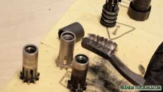 Cleaning AAC Tirant pistons