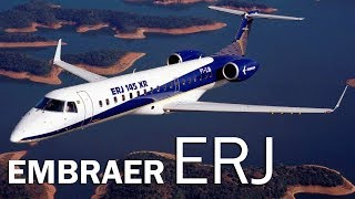 Embraer ERJ - танец с индустрией. История первого реактивного лайнера Embraer