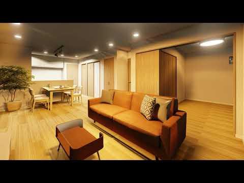リアルなパース建築動画を、リーズナブルで提供します マイホームの完成予想、人の目を引くプレゼン提案にも! イメージ1