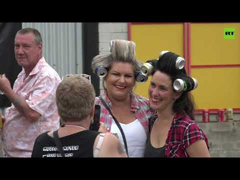 Mulletfest 2021 | Aussies compete to be crowned best mullet of the year