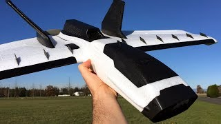ZOHD Dart XL Extreme 1000mm FPV Wing Maiden Flight With Onboard Video