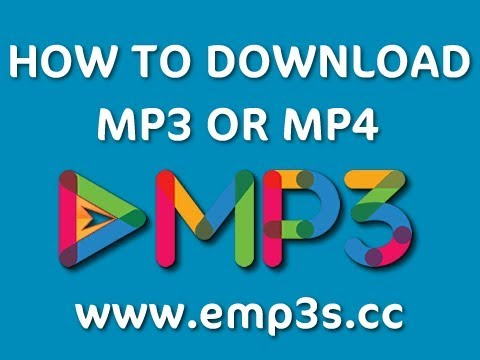 How To Download MP3 Or MP4 File From EMP3 Downloads