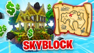 LOOTING a 0.01% ITEM! - Minecraft SKYBLOCK #16