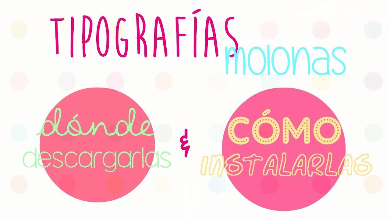Recursos para Bloggers: Como Descargar e instalar fuentes / tipografías (windows) #NONAGEEK