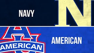 PLN Classic: Women's Volleyball, Navy at American (Nov. 18, 2018)