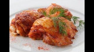 Готовим куриное бедро в сметане