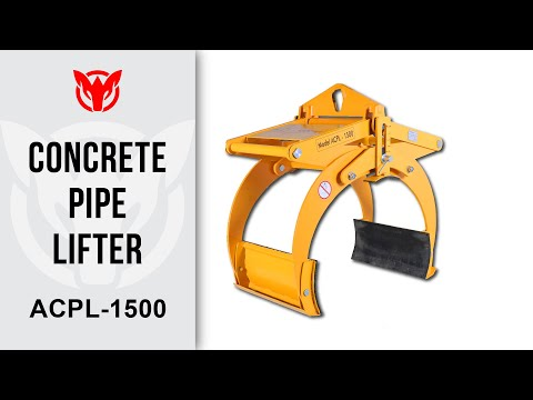 Concrete Pipe Lifter 1500