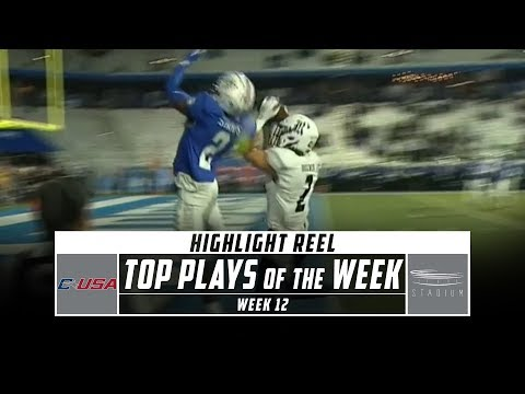 Conference USA Top 5 Plays of the Week: Week 12 (2019) | Stadium