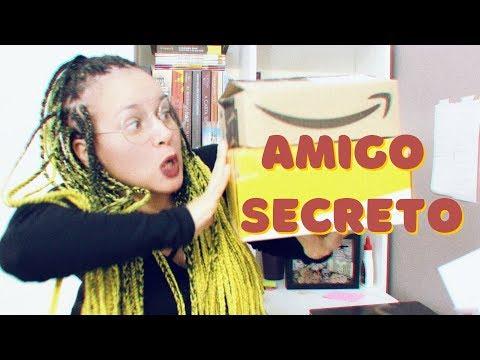 UNBOXING Amigo Secreto do Dia do Amigo + indicação de livros | Por Equalize da Leitura