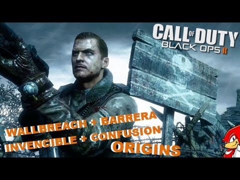 Truco Black Ops 2 Zombies ORIGINS Wallbreach + Barrera Invencible + Confusion - By ReCoB