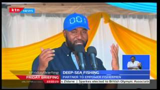 Launch of a new deep sea fishing vessel in Mombasa expected to raise harvests