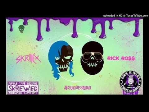 Skrillex~Ft Rick Ross-Purple Lamborghini Chopped DJ Monster Bane Clarked Screwed Cover Full Album
