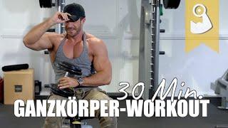 Ganzkörper Workout für Zuhause   30 Minuten