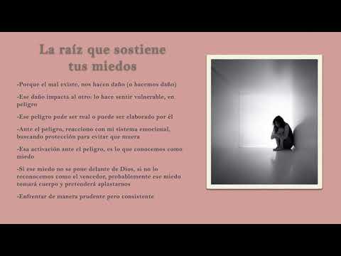 La raíz que sostiene tus miedos - Psicólogo Saulo Medina Ferrer