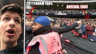 KICKS OFF AT THE NORTH LONDON DERBY   Spurs Vs Arsenal