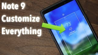 Galaxy Note 9 - 25+ Tips to Customize your Home Screen, Lock Screen & Notifications Panel