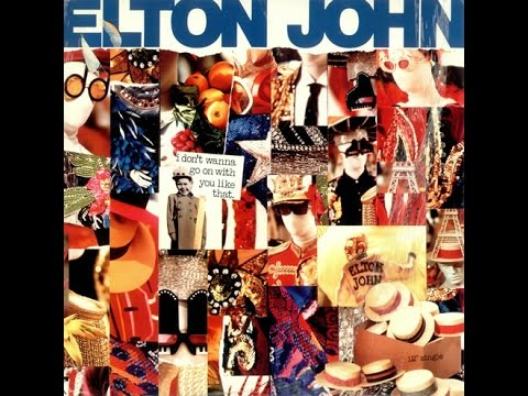 Elton John - I Don't Wanna Go On with You Like That (Shep Pettibone Extended Remix) Original Vinyl!