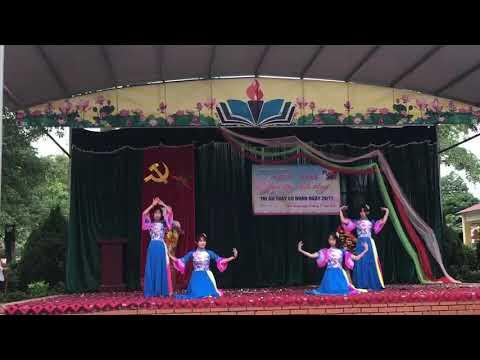 """Múa """"Gió đánh đò đưa"""" Lớp 9B - Trường THCS Bình Thuận"""