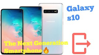 Смартфон Samsung Galaxy S10 SM-G973 DS 128GB White (SM-G973FZWD) от компании Cthp - видео 3