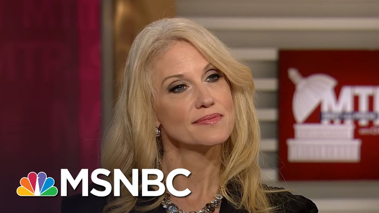 Kellyanne Conway: Giuliani's Withdrawal From Consideration A 'Mutual Decision' | MTP Daily | MSNBC thumbnail